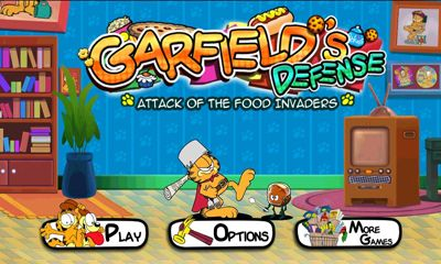 Оборона Гарфилда. Атака пищевых захватчиков / Garfields Defense. Attack of the Food Invaders