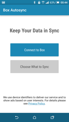 Autosync Box Cloud Storage